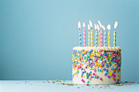 Dzimšanas dienas apsveikumi!