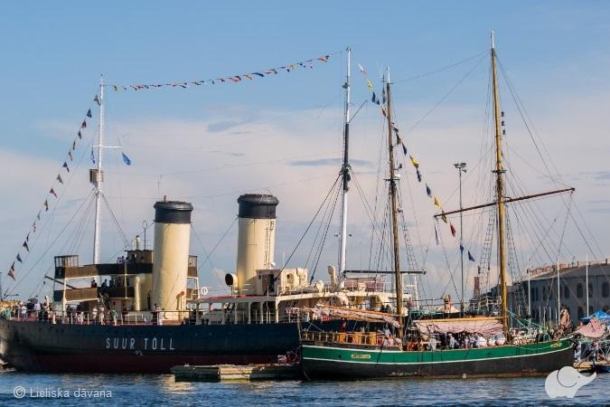 Igaunijas Jūras muzeja apmeklējums